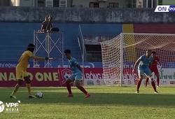 """""""Kết liễu"""" đối thủ bằng lưng, Fagan giúp Hải Phòng đè bẹp Khánh Hòa tại sân nhà"""