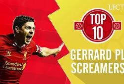 10 khoảnh khắc vĩ đại của Steven Gerrard tại Premier League