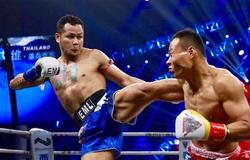'Đại cường nhân Trung Hoa' gây xôn xao với màn tái đấu 'Máy đấm Thái Lan' Yodsanklai Fairtex