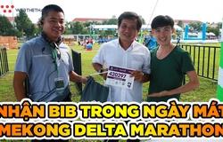 Nhận bib và hưởng gió chiều mát nhẹ tại Mekong Delta Marathon 2020
