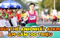 Đại úy Bùi Thế Anh ẵm gần 100 triệu đồng nhờ vô địch Mekong Delta Marathon 2020
