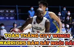 Toàn thắng Hochiminh City Wings, Thang Long Warriors bám sát ngôi đầu