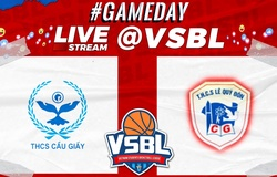 TRỰC TIẾP bóng rổ VSBL 2020: Cầu Giấy vs Lê Quý Đôn (ngày 22/11, 10h00)