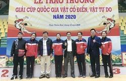 Chuyện độc của thể thao Việt Nam: Ba chị em ruột môn vật cùng vô địch một giải đấu