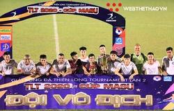 SHB Đà Nẵng lên ngôi vô địch giải tiền V.League 2021