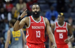 Houston Rockets sẽ treo áo James Harden