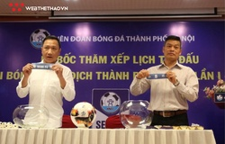 """Bốc thăm Hanoi Serie A 2021: Nhiều trận cầu """"nóng"""" ngày khai mạc"""
