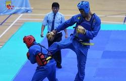 Người khổng lồ Trần Ngọc Tú giành HCV Giải VĐ các đội mạnh Vovinam toàn quốc 2021