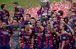 Barca từng nhiều lần ngược dòng trong cuộc đua vô địch La Liga