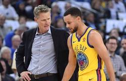 HLV Steve Kerr nói gì khi lại ngăn Steph Curry phả kỷ lục của Klay Thompson?