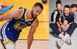 Trên sân phá mọi kỷ lục, Stephen Curry về nhà lại đòi… kẹo và bắp rang?