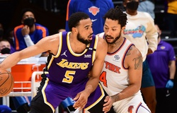 Gạt bỏ 31 điểm của Julius Randle, Lakers thắng nghẹt thở Knicks nhờ quả 3 điểm của Talen Horton-Tucker