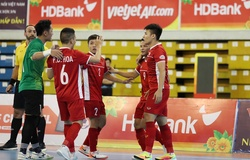 Lịch thi đấu bóng đá hôm nay 17/5: Futsal Việt Nam vs Iraq