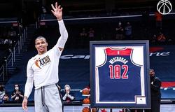 Đi kèm kỷ lục triple-double, Russell Westbrook đạt bộ chỉ số khủng lần thứ 4 trong 5 mùa