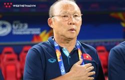 HLV Park Hang Seo thể hiện cảm xúc thế nào về kết quả bốc thăm VL World Cup 2022?