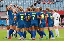 Kết quả bóng đá nữ New Zealand vs nữ Thụy Điển, Olympic 2021