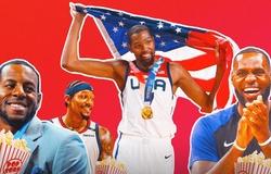 LeBron James dẫn đầu NBA tại quê nhà gửi lời chúc mừng tuyển Mỹ