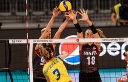 Kết quả thi đấu giải bóng chuyền nữ Vô địch châu Âu 2021 mới nhất