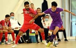 Lịch trực tiếp futsal Việt Nam đá World Cup 2021 hôm nay mới nhất