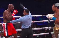 Boxing: Vitor Belfort knockout kĩ thuật Evander Holyfield, thách thức Jake Paul