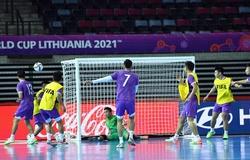 Một ngày trước giờ G, trận futsal Việt Nam vs Brazil lại đổi lịch thi đấu