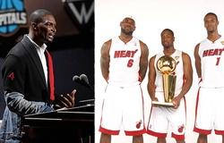 Chris Bosh cùng dàn hảo thủ Miami Heat tái ngộ ở lễ vinh danh Hall of Fame
