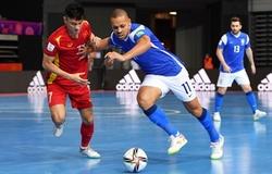 Tỷ số futsal Việt Nam 1-9 Brazil: Thất bại khó tránh