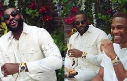Sao bóng rổ Russell Westbrook cùng LeBron James đi đóng MV cho rapper Nas
