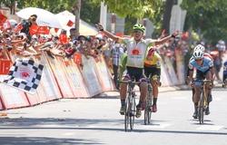 Đăng Khoa giành chiến thắng chặng 18 giải đua xe đạp Cúp truyền hình HTV 2021