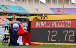"""""""Thần gió Pháp 19 tuổi"""" phá kỷ lục thế giới chạy 110m rào đầy kinh ngạc"""