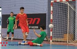 Tuyển futsal Việt Nam rèn thể lực, mài chiến thuật săn vé dự World Cup