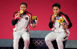 Đoạt HCV cầu lông Olympic, đôi nữ Indonesia thành đại gia