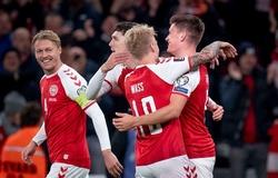 Đan Mạch giành vé dự World Cup 2022 với thành tích thắng tuyệt đối