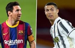 Messi dẫn trước Ronaldo về ghi bàn ở vòng bảng Champions League