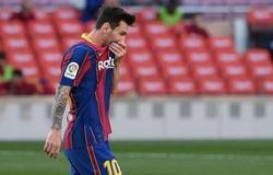 Messi ghi bàn tệ nhất từng thấy với Barca sau 6 trận đầu tiên