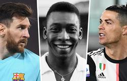 4 kỷ lục của Pele mà Ronaldo, Messi và Neymar vẫn phải theo đuổi