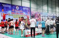 Giải Cầu lông CLB Toàn quốc năm 2021 có bước đột phá