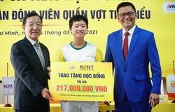 Sao tennis nữ VN Đào Minh Trang: Sớm thử sức kinh doanh!