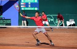 """Kết quả tennis Davis Cup hôm nay: Việt Nam tranh thăng hạng với """"hàng xóm"""""""