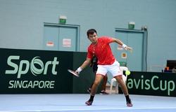 Kết quả tennis Davis Cup: Việt Nam dẫn đầu do thắng đối thủ có tay vợt hạng cao nhất