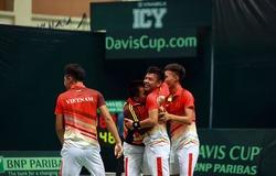 Giải tennis Davis Cup nhóm III tổ chức ở Việt Nam