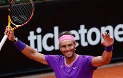 Kết quả tennis Rome Open mới nhất:Nadal phục hận, các số 1 khốn đốn!