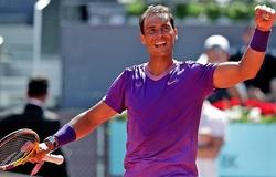 Kết quả tennis Madrid Open mới nhất:Nadal vào tứ kết, số 1 thế giới nữ phục hận!