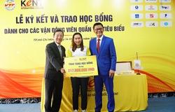 ĐKVĐ tennis VN Trần Thụy Thanh Trúc: Tốt nghiệp KENT xong sẽ du học