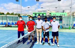 Kết quả tennis Davis Cup hôm nay: Đội tuyển Việt Nam vào play-offs với ngôi đầu bảng B