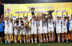 U19 Hà Nội bảo vệ thành công ngôi vô địch giải U19 nữ Quốc gia