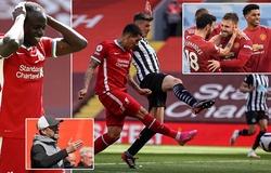 Liverpool ghi ít bàn hơn MU kể từ Giáng sinh đến mức khó tin
