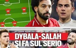 Đội hình Liverpool như thế nào với giả thuyết trao đổi giữa Salah và Dybala?