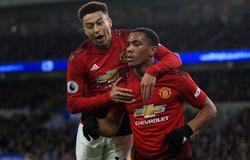 Tin bóng đá ngày 18/2: MU lạc quan về khả năng Martial và Lingard trở lại sớm ở trận đại chiến