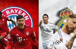Lịch thi đấu bóng đá hôm nay 20/7: Bayern Munich đụng độ Real Madrid